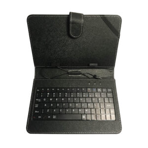 "7"" TABLET CASE WITH WIRED KEYBOARD"